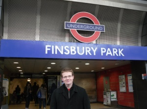 Robert at Finsbury Park station
