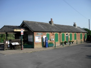 Brading station