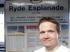 Hampo at Ryde Esplanade