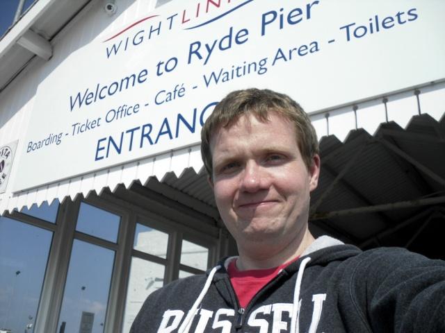 Hampo at Ryde Pier Head