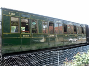 Isle of Wight Steam Railway Carriage