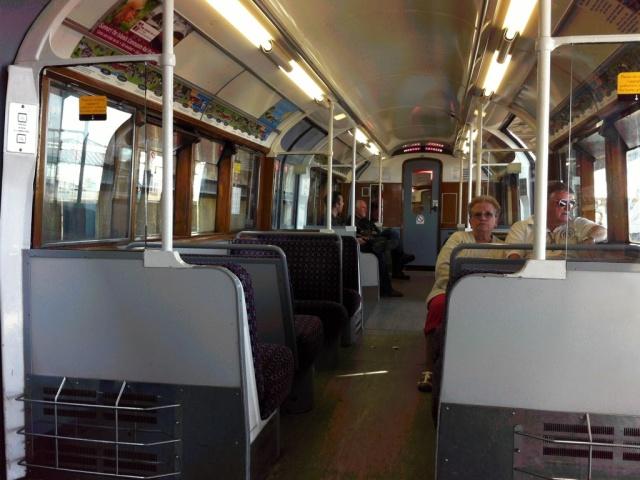 Island Line Train