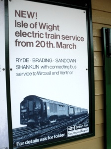 NEW! Isle of Wight electric train service