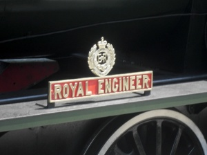 Royal Engineer nameplate