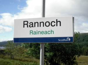 Rannoch station