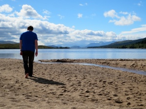 Robert at Loch Laidon