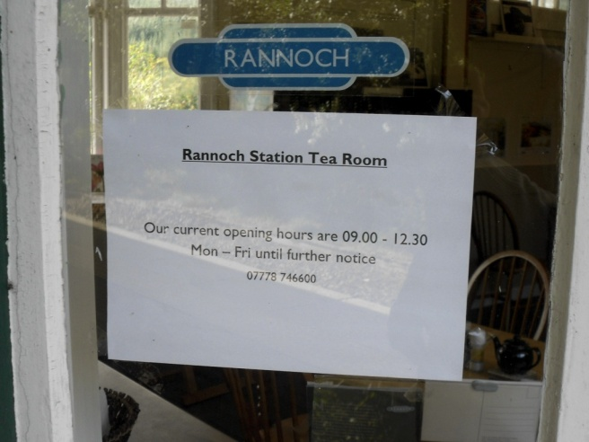 Tea Room open mornings only