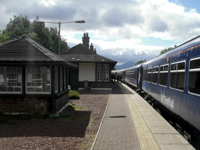 Train at Rannoch