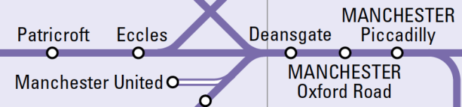 Northern Rail Map