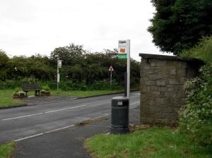 Acklington Crossroads Bus Stop