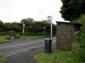 Acklington Crossroads Bus Stop