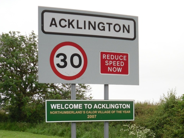 Acklington Calor Village of the Year