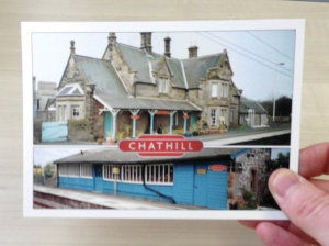 Chathill postcard