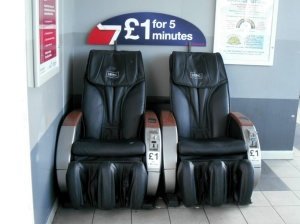 Vibrating Chairs - £1 for 5 mins