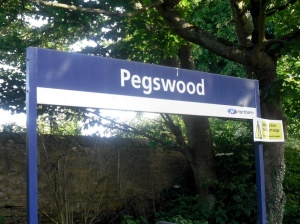 Pegswood Sign