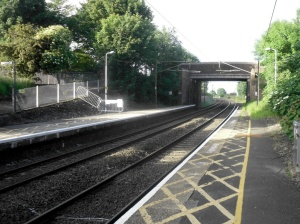 Pegswood Station