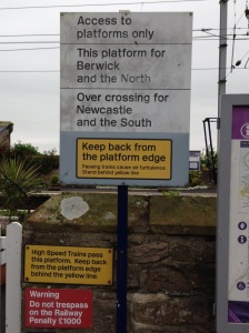 This platform for Berwick