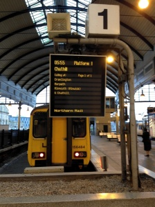 0555 to Chathill