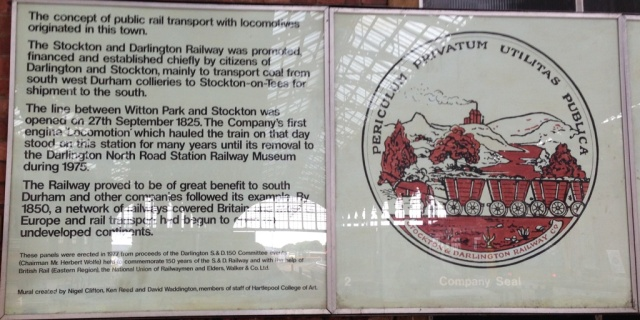 Stockton & Darlington Mural