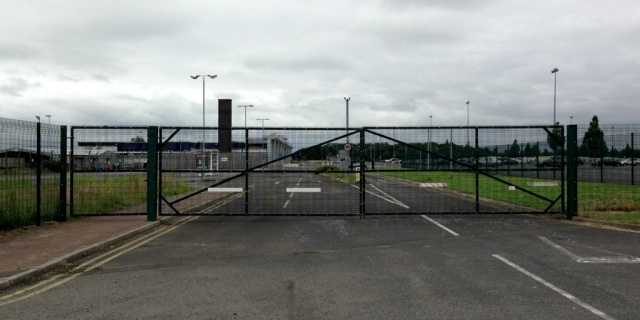 Teesside Airport Fence