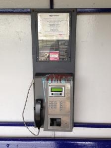 Teesside Airport Payphone