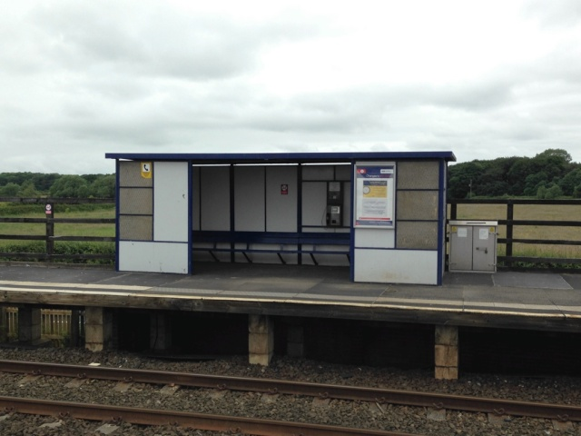 Teesside Airport Station Shelter