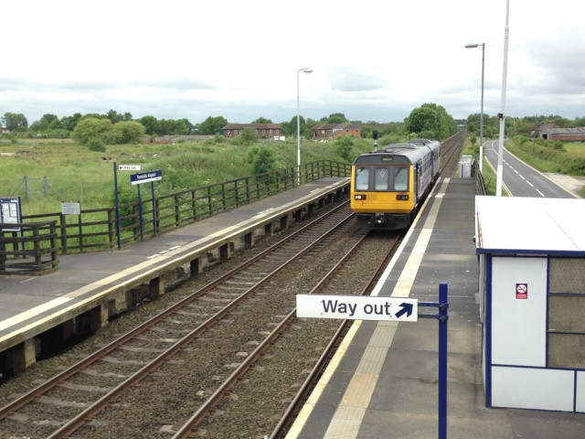 Teesside Airport Station