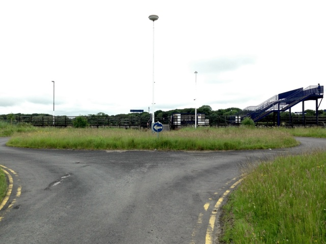 Teesside Airport Turning Circle