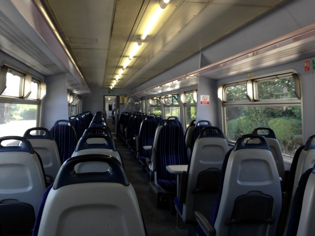 Empty Northern Rail Class 156 - Helsby to Ellesmere Port