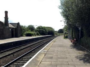 Helsby station platform 4