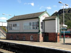 Helsby station signalbox