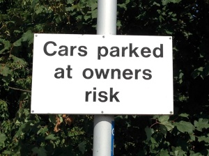 Ince & Elton - Cars parked at owners' risk