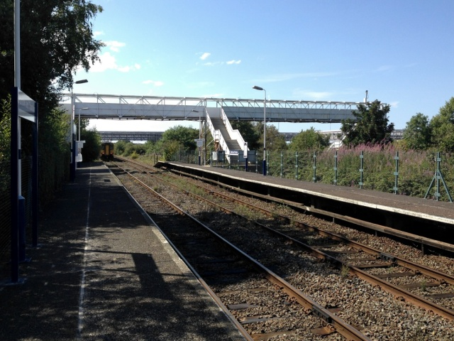 Stanlow & Thornton station