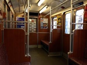 Berlin U-Bahn interior