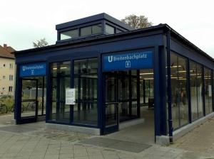 Breitenbachplatz entrance