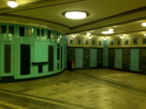 Ticket hall, Heidelberger Platz